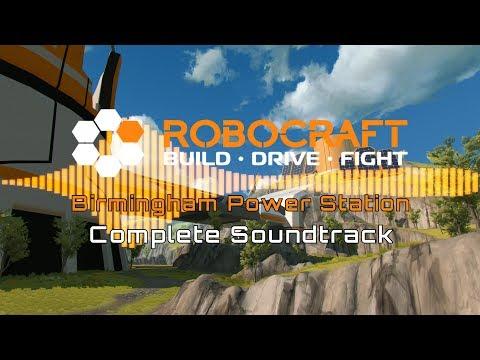 Robocraft 🎖 Birmingham Power Station 🎵 (Complete Soundtrack) [4K UHD]