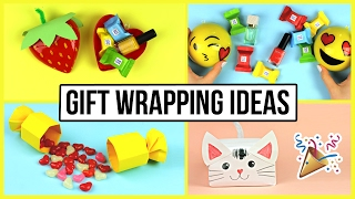 Cute & Creative DIY Gift Wrapping Ideas for Valentine's Day, Birthday, Christmas ????