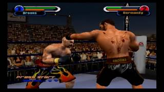 Knockout Kings 2002 (PS2 Demo) Tyler Brooks vs. Ray Dormandy