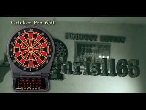 Arachnid Cricket Pro 800 Electronic Dartboard with NylonTough Segments for Improved Durability