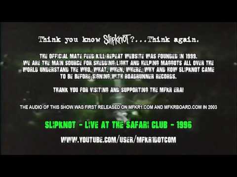 Slipknot  Live at The Safari Club 1996  06  Windows
