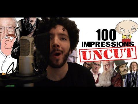 100 IMPRESSIONS UNCUT
