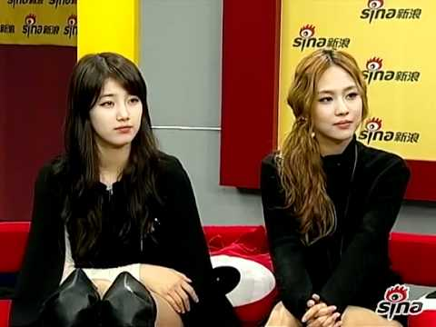 111116 Miss A Sina Live Chat Part 3