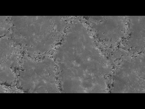 Polygonal Raised Ridges - Periglacial Processed Polygons On Mars