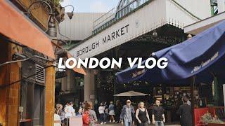 런던 브이로그  런던에서 가장 오래된 시장 버로우마켓…