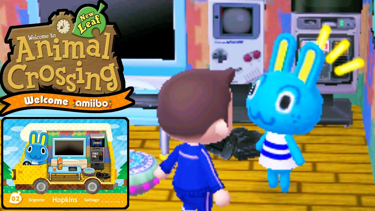 Animal Crossing New Leaf Welcome Amiibo Card Update