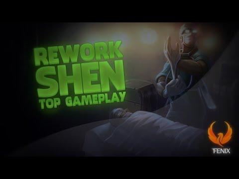 League of Legends - SHEN REWORK TOP GAMEPLAY - SHEN OP DEMAIS!!! [PT-BR]