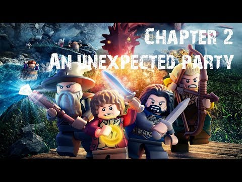 Lego The Hobbit Chapter 2: An Unexpected Party - Full Episode Gameplay Playthrough