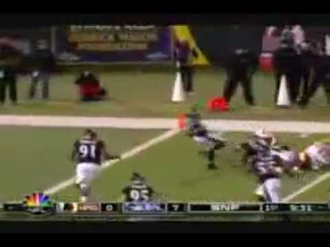 Ed Reed #20 Touchdowns Career highlights.