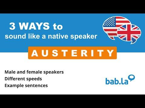 austerity-pronunciation- -improve-your-language-with-bab.la
