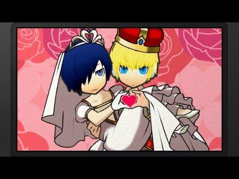 Persona Q: SotL - P3 MC & Aigis Wedding (P3) [Group Date Cafe]