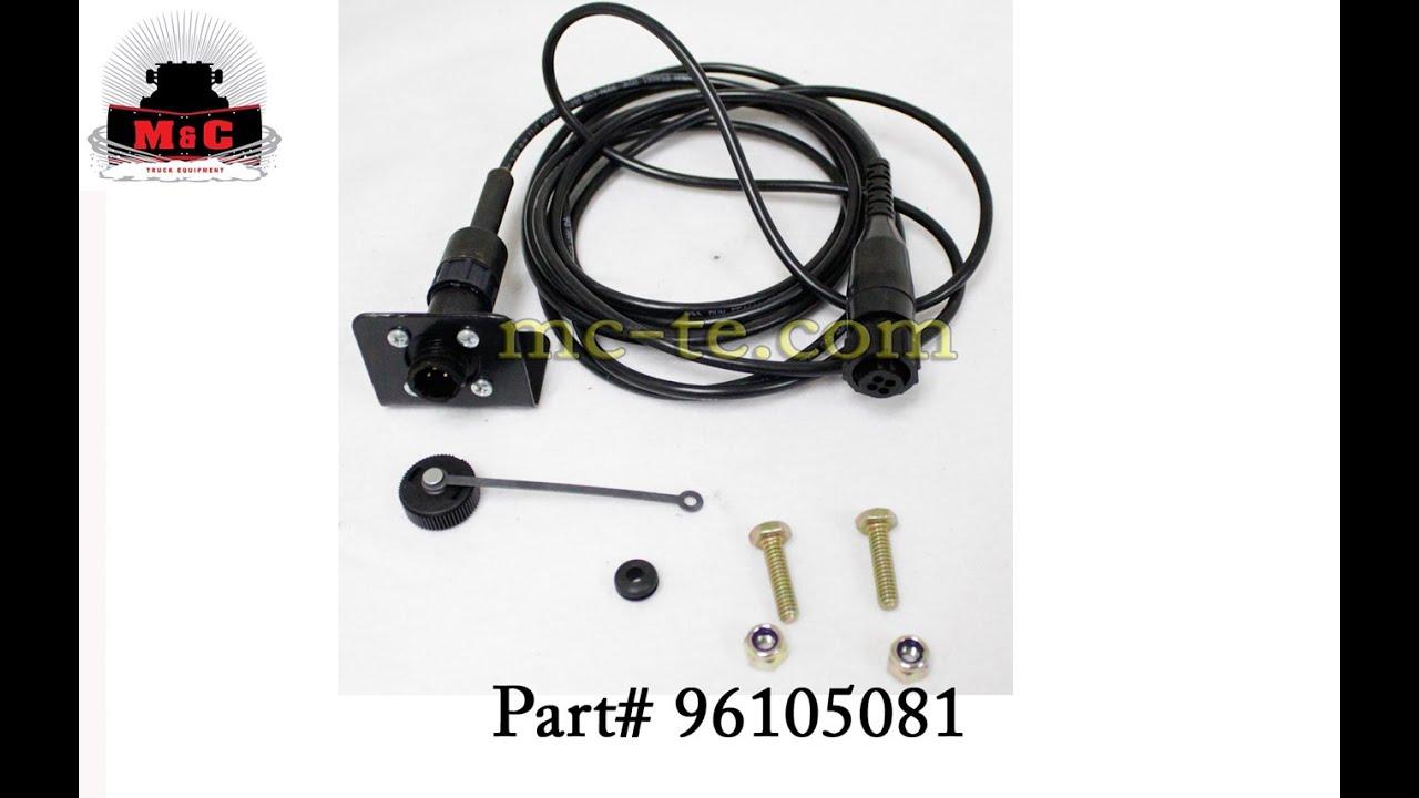 sno way control harness 96105081 youtube snow way wiring schematic sno way plow wiring [ 1280 x 720 Pixel ]
