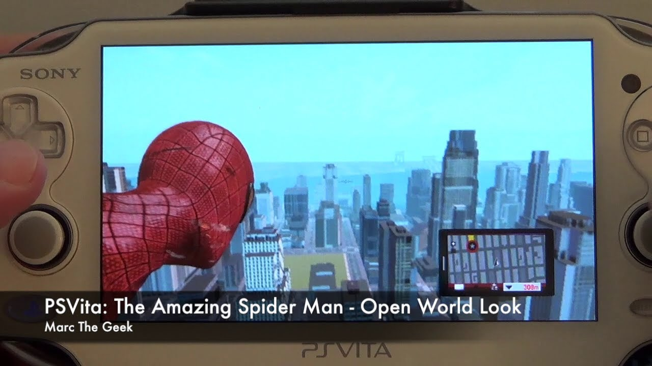 PSVita: The Amazing Spider Man - Open World Look
