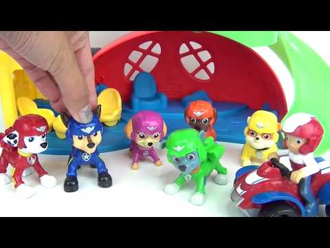 Paw Patrol Pup To Hero Playsets with Marshall, Skye & Air Pups Chase, Rubble, Ryder, Twozies / TUYC