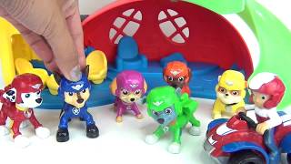 Paw Patrol Pup To Hero Playsets with Marshall, Skye & Air Chase