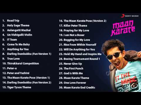 Maan Karate Music Box - Original Soundtrack & Background Music by Anirudh