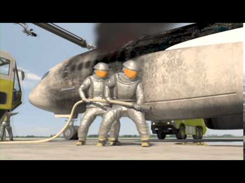 ARFF-Cargo Aircraft Fire Fighting Part 1/2