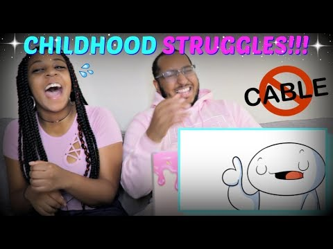 "TheOdd1sOut ""Growing Up Without Cable"" REACTION!!!"