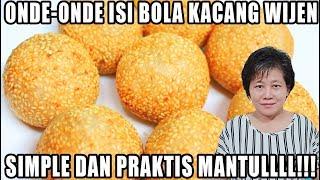 ONDE-ONDE ISI BOLA KACANG WIJEN RASANYA MANTULL!!!