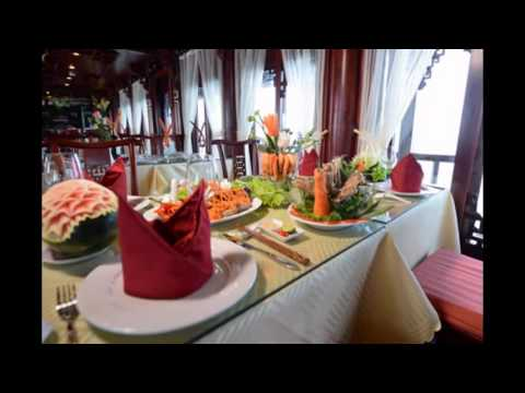 Halong Royal Palace Cruise best rates with Hanoi Free Food Tour