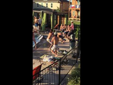 San Marcos pool party fight