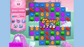 Candy Crush Saga Level 151 NO BOOSTERS Cookie