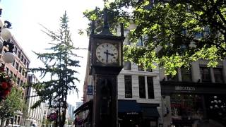 The Steam Clock in Vancouver, British Colombia