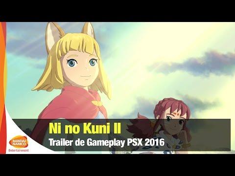 Ni no Kuni II: Revenant Kingdom - Trailer de gameplay PSX 2016 - Bandai Namco Latinoamérica
