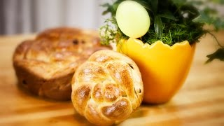 Easter Raisin Bread - Wielkanocna Chalka Z Rodzynkami - Recipe #205
