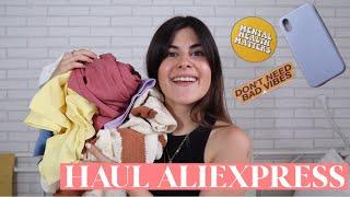 HAUL ALIEXPRESS : COSAS QUE NO NECESITAS PERO OBVIAMENTE COMPRAS 🌺 видео