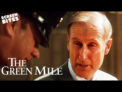"The Green Mile - Tom Hanks James Cromwell ""Stick with me Paul"" OFFICIAL HD VIDEO"