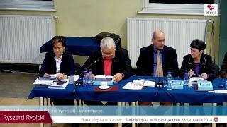 II sesja Rady Miejskiej w Mosinie 28 listopada 2018 r. - część 2