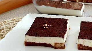 Pasta tadında nefis tatlı tarifi - Etimek Tatlısı - Ev Lezzetleri