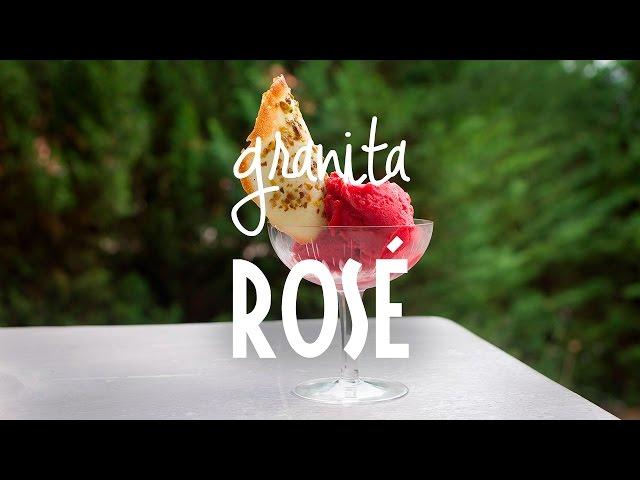 Granita Rosé | Rendez-vous en Provence