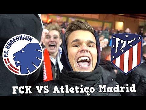 FCK VS Atletico Madrid VLOG!!!