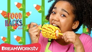 Candy Corn on the Cobb | FOOD HACKS FOR KIDS