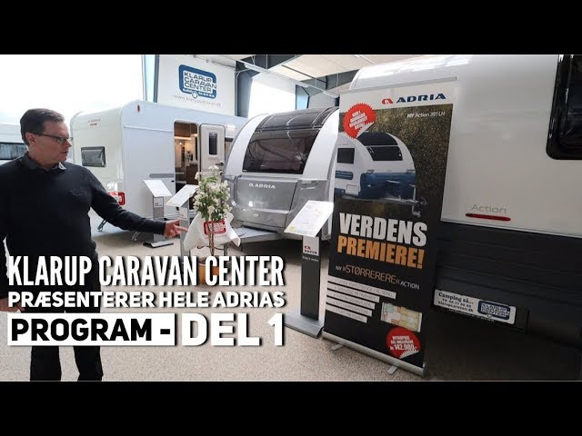 Klarup Caravan Center - del 1 -  Se hele Adrias program