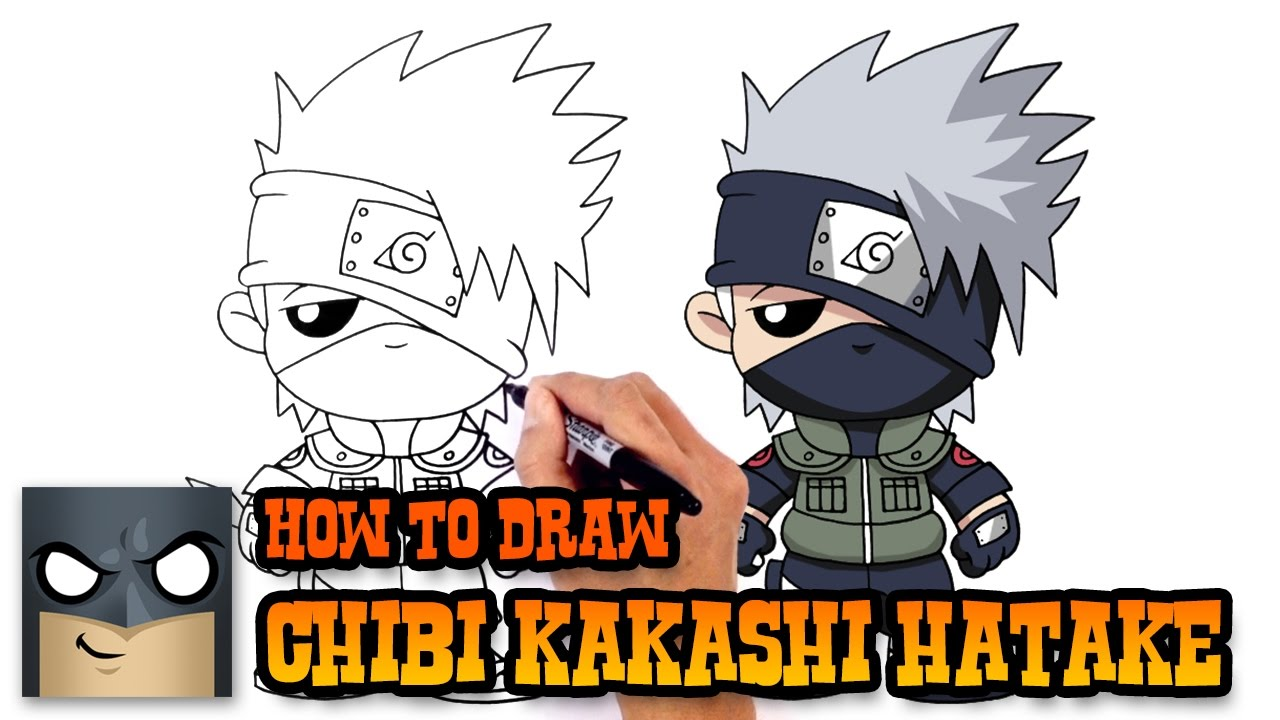 How to draw kakashi hatake naruto youtube