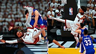 THE SIXERS ARE TRYING TO INJURE CAM! NO CALLS ON FLAGRANT FOULS! - NBA 2K18 MyCAREER PLAYOFFS R2G1