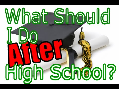 What Should I Do After High School?