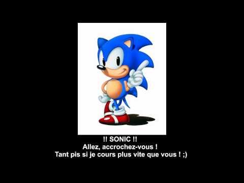 Sonic Le Hérisson - Générique (Avec les Paroles) Complet V-HD