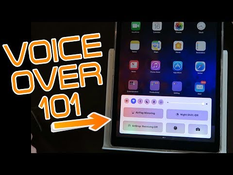 VoiceOver 101 | How To Access The Notification & Control Centers | The Blind Life
