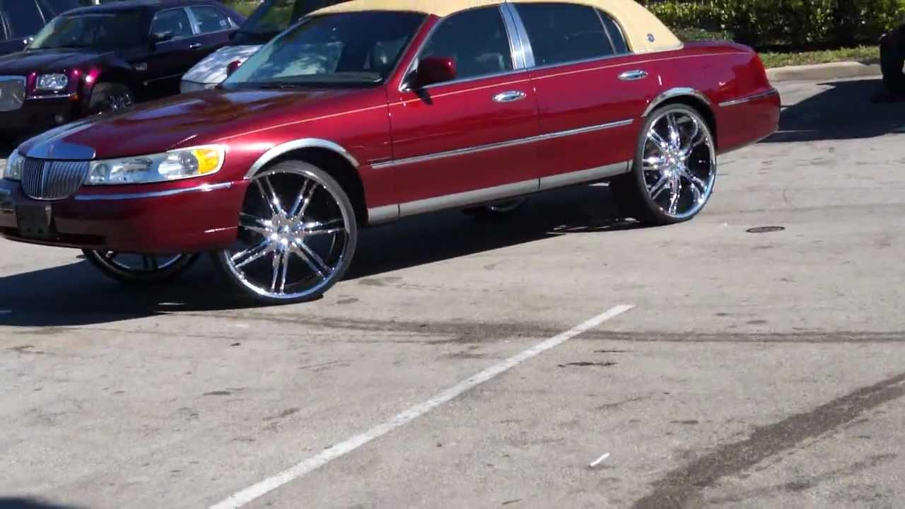 24 Inch Rims Lincoln Town Car