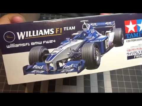Tamiya 1/20 F1 Team Williams FW 24