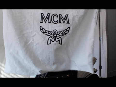 MCM  Small Dual Stark  backpack review - YouTube dad49cc4788ba