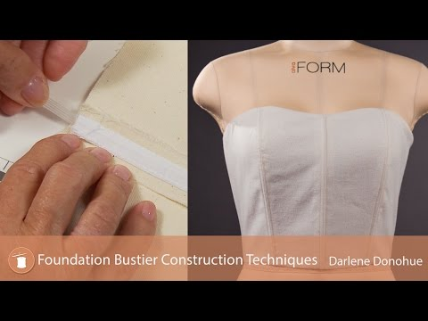 Foundation Bustier Construction Techniques