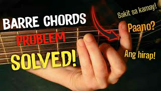 Paano mag Barre ChordsHow to Barre Chords  Tips and Exercises  HeartSheep