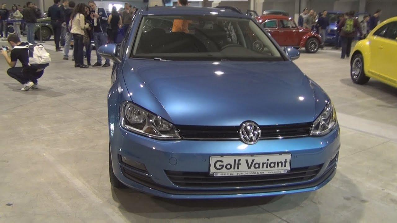 volkswagen golf variant trendline 1 6 tdi bmt exterior and. Black Bedroom Furniture Sets. Home Design Ideas