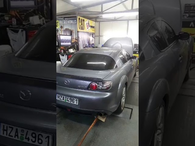 Dyno Mazda RX8 Total Carbon Cleaner +16ps