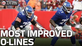 Most Improved Offensive Lines Heading Into the 2018 Season | NFL Network